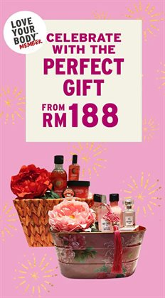 Offers from The Body Shop in the Johor Bahru leaflet