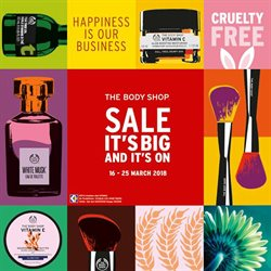 Offers from The Body Shop in the Petaling Jaya leaflet