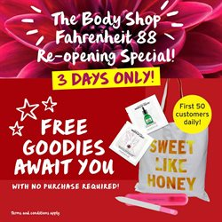 Offers from The Body Shop in the Kuala Lumpur leaflet