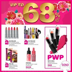 Offers from SaSa in the Petaling Jaya leaflet