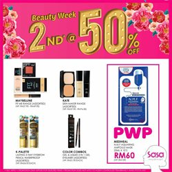 Perfume & Beauty offers in the SaSa catalogue in Johor Bahru