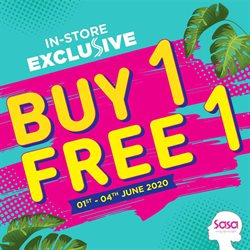 Perfume & Beauty offers in the SaSa catalogue in Ipoh ( Expires tomorrow )
