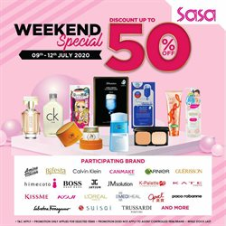 Perfume & Beauty offers in the SaSa catalogue in Petaling Jaya ( 2 days left )