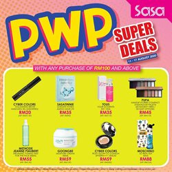 Perfume & Beauty offers in the SaSa catalogue in Seremban ( 3 days left )