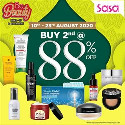 Perfume & Beauty offers in the SaSa catalogue in Seremban ( 3 days ago )