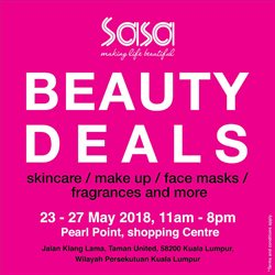 Offers from SaSa in the Kuala Lumpur leaflet