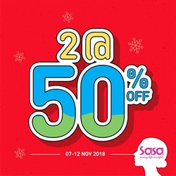 Alor Star Mall offers in the SaSa catalogue in Kedah
