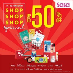 Perfume & Beauty offers in SaSa catalogue ( Expires today)