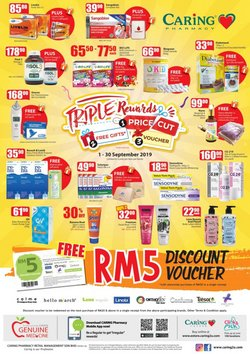 Offers from Caring Pharmacy in the Penang leaflet
