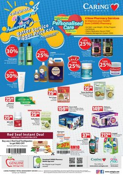 Offers from Caring Pharmacy in the Petaling Jaya leaflet