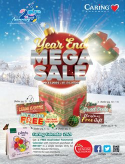 Offers from Caring Pharmacy in the Melaka leaflet