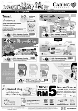 Offers from Caring Pharmacy in the Kuala Lumpur leaflet