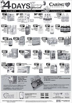 Perfume & Beauty offers in the Caring Pharmacy catalogue in Kuala Lumpur