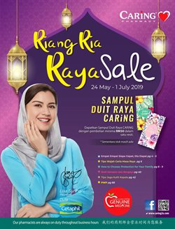 Perfume & Beauty offers in the Caring Pharmacy catalogue in Petaling Jaya