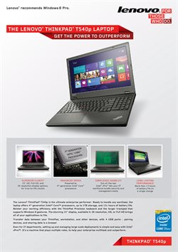 Lenovo catalogue ( 21 days left )