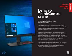 Electronics & Appliances offers in the Lenovo catalogue in Johor Bahru ( More than a month )