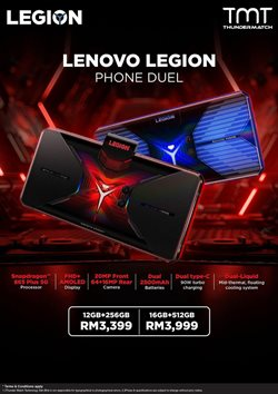 Electronics & Appliances offers in Lenovo catalogue ( 30 days left)