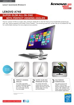 Offers from Lenovo in the Kuala Lumpur leaflet