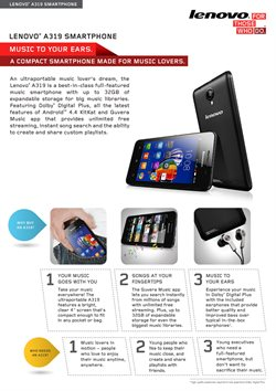 Electronics & Appliances offers in the Lenovo catalogue in Kuala Lumpur