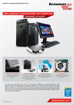 Offers from Lenovo in the Penang leaflet