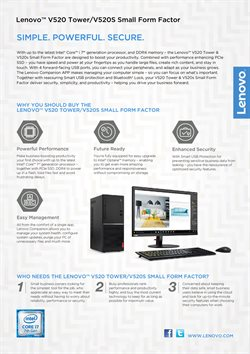 Offers from Lenovo in the Sunway-Subang Jaya  leaflet