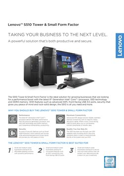 Offers from Lenovo in the Kajang-Bangi leaflet