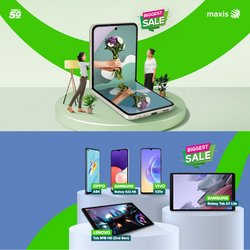 Maxis offers in Maxis catalogue ( 7 days left)