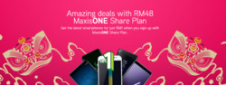 Offers from Maxis in the Kuala Lumpur leaflet