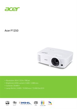 Acer catalogue in Johor Bahru ( More than a month )
