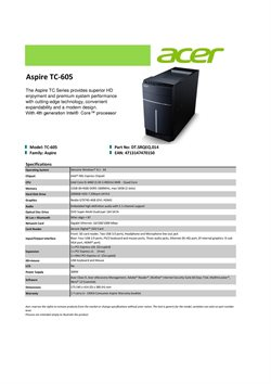 Offers from Acer in the Kajang-Bangi leaflet