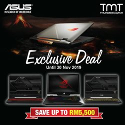 Offers from Asus in the Kuala Lumpur leaflet