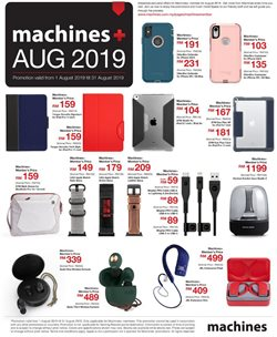 Offers from Machines in the Sunway-Subang Jaya  leaflet
