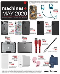 Machines catalogue in Klang ( Expires today )