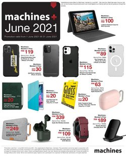 Electronics & Appliances offers in Machines catalogue ( 12 days left)