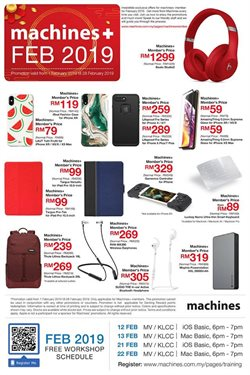 Offers from Machines in the Kuala Lumpur leaflet