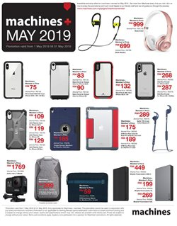 Offers from Machines in the Kajang-Bangi leaflet