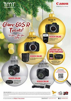 Electronics & Appliances offers in the Canon catalogue in Ipoh