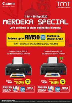 Electronics & Appliances offers in the Canon catalogue in Ipoh ( More than a month )