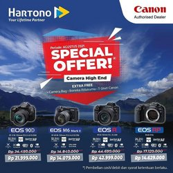 Canon offers in Canon catalogue ( 26 days left)