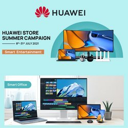 Huawei offers in Huawei catalogue ( 5 days left)