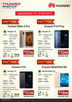 Electronics & Appliances offers in the Huawei catalogue in Kuala Lumpur