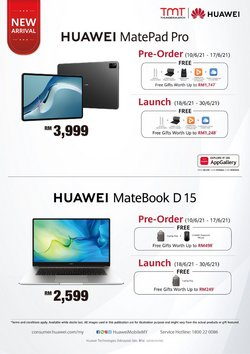 Electronics & Appliances offers in Huawei catalogue ( Expires tomorrow)