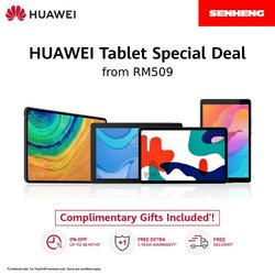Electronics & Appliances offers in Huawei catalogue ( Expires today)