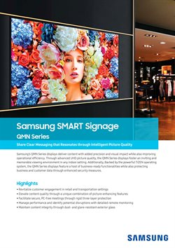 Offers from Samsung in the Kajang-Bangi leaflet