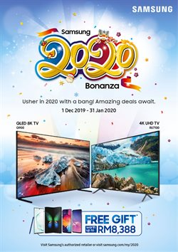 Offers from Samsung in the Kuala Lumpur leaflet