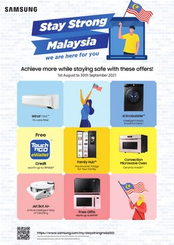 Samsung offers in Samsung catalogue ( 15 days left)