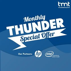 Offers from Thunder Match in the Penang leaflet