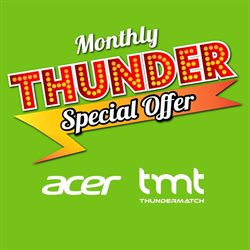 Offers from Thunder Match in the Kuala Lumpur leaflet