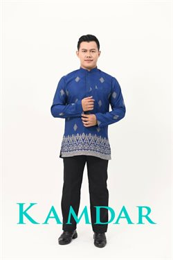 Clothes, shoes & accessories offers in the KAMDAR catalogue in Kedah ( More than a month )