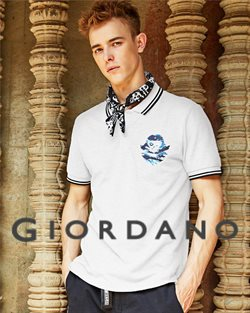 Offers from Giordano in the Penang leaflet